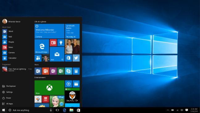 la façon de fixer la barre de titre de Windows 10