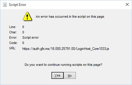 supprimez onedrive Erreur de script sur Windows 10