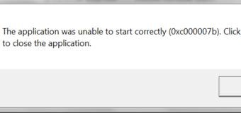 Comment réparer l'erreur 0xc00007b / 0xc000007b (Tous les jeux et logiciels pour PC) sur Windows 7, 8 et 8.1