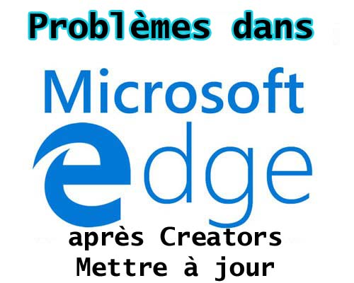 Microsoft Edge Browser coincé