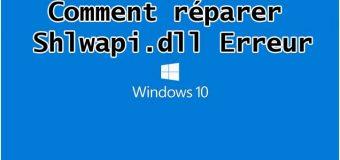 Guide complet pour réparer les erreurs Shlwapi.dll sur votre PC