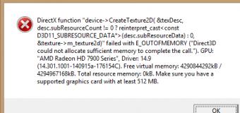 Comment réparer l'erreur de Directx après la mise à jour vers Windows 10 Creators Update?
