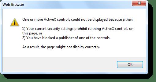 contrôles ActiveX