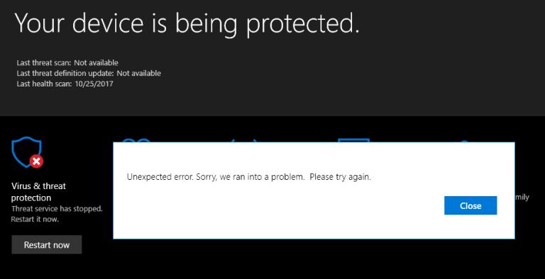 """Windows Defender - un programme de sécurité par défaut du système Windows, spécialement conçu pour analyser et supprimer les fichiers et les virus indésirables. Cet outil antivirus est capable de gérer tous les types de menaces malveillantes et autres problèmes de sécurité. Si vous utilisez Windows Defender, vous n'avez pas besoin d'installer un autre outil antivirus tiers car il constitue une solution de sécurité complète pour votre système Windows. Cet outil doit être mis à jour quotidiennement, ce qui lui permettra de lutter contre les dernières menaces. Mais, parfois, cet outil de sécurité avancé lance un message d'erreur sans aucun code d'erreur spécifique. Les erreurs de Microsoft Defender sont rares: • Le service des menaces Microsoft Defender s'est arrêté • Erreur Windows Defender «Erreur inattendue. Désolé, nous avons rencontré un problème. Veuillez réessayer"""" Ces problèmes peuvent apparaître lorsque l'utilisateur tente de mettre à jour Windows Defender et qu'il affiche un message d'erreur tel que «Le service des menaces Microsoft Defender s'est arrêté». Par conséquent, sans résoudre cette erreur, vous ne pouvez pas installer la dernière mise à jour et Windows Defender deviendra obsolète, Si vous souffrez de l'un des messages d'erreur ci-dessus lors de l'accès ou de l'utilisation de Windows Defender sur votre PC / ordinateur portable Windows 10, 8.1, 8 et 7, ne vous inquiétez pas et appliquez les solutions un par un pour les corriger. problèmes. Étapes à suivre pour réparer le «service des menaces Microsoft Defender arrêté» Si vous obtenez Microsoft Defender Threat Service a arrêté le message d'erreur lors de l'utilisation de Windows Defender, puis appliquez les étapes indiquées ci-dessous pour vous débarrasser de ce problème. Etape 1: Tout d'abord, vous devez ouvrir la boîte de dialogue Exécuter, pour cela, appuyez sur Win + R Étape 2: Dans la boîte de dialogue Exécuter, tapez gpedit.msc et appuyez sur la touche Entrée. Étape 3: Choisissez les composants a"""
