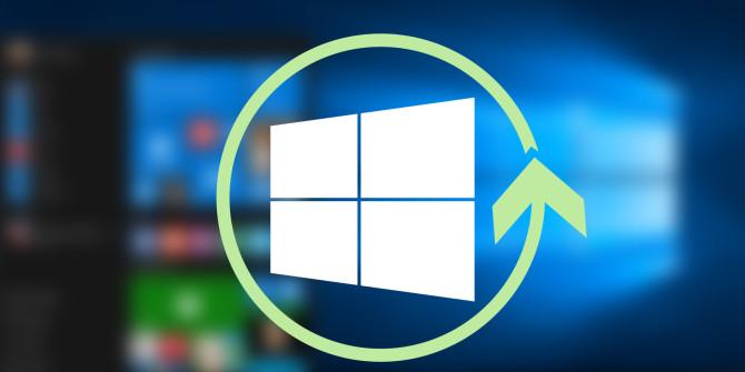le processus de réinstallation de Windows 10