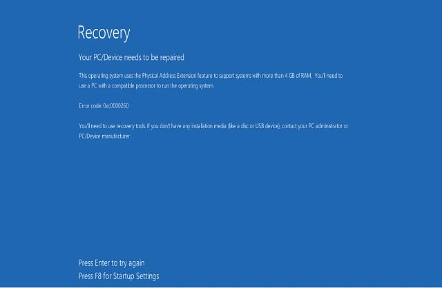 réparer erreur «Le fichier de données de configuration de démarrage est manquant» dans Windows 10